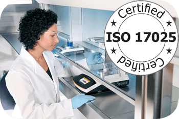 Calpipette is ISO:17025 Certified