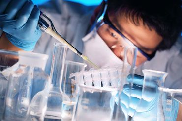 Using a Pipette in the Lab