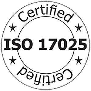ISO:17025 Certified